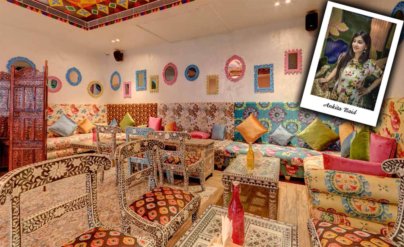 Moroccan theme restaurant