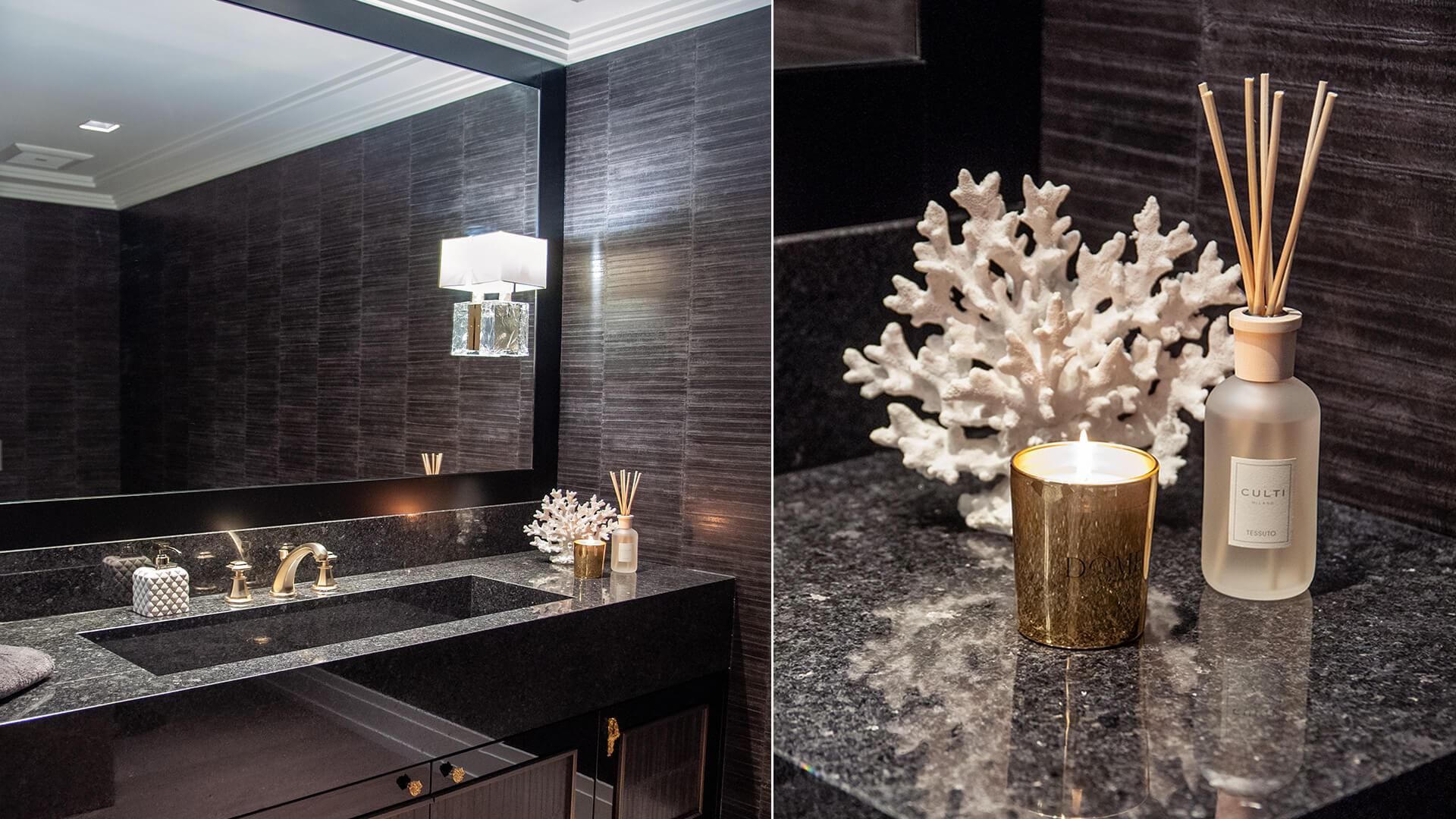 Luxury art deco theme house in Miami by Celline Demole, Dome Project Interiors