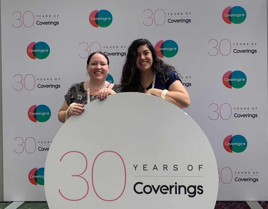 Coverings celebrate 30 years