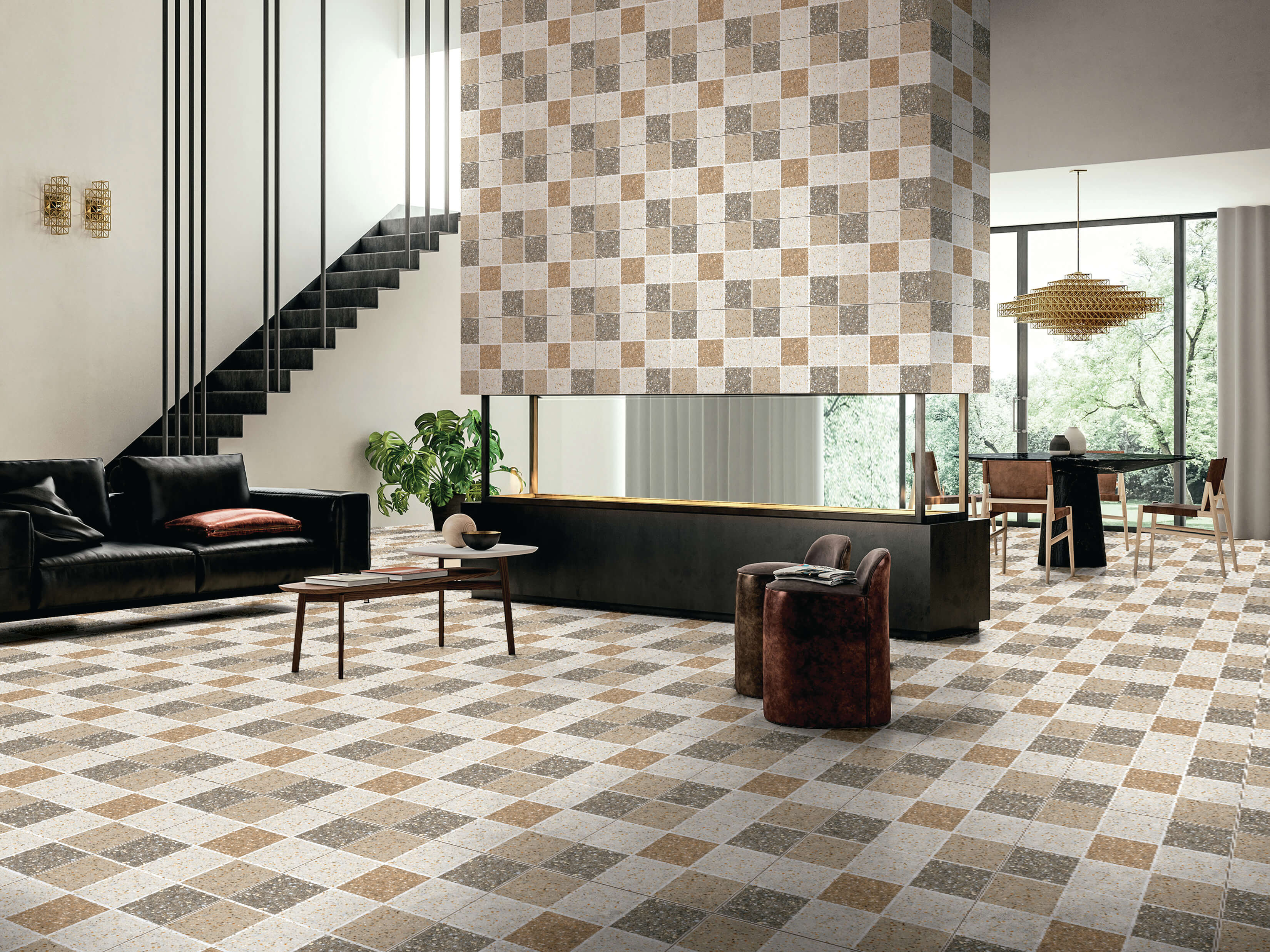 Orient Bell fusion tile series