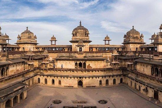 Orchha town in Madhya Pradesh