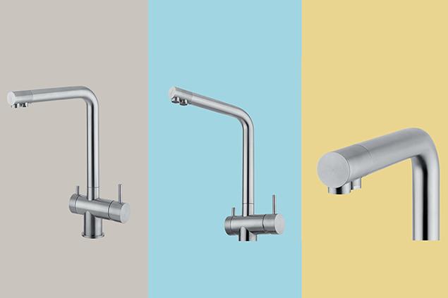 Quadro Design innovative kitchen taps