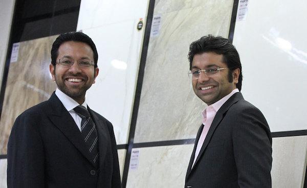 Chetan Kajaria and Rishi Kajaria