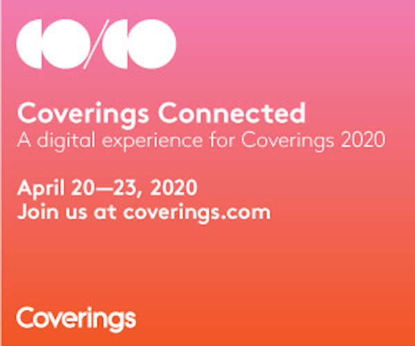 The digital experience for Coverings 2020