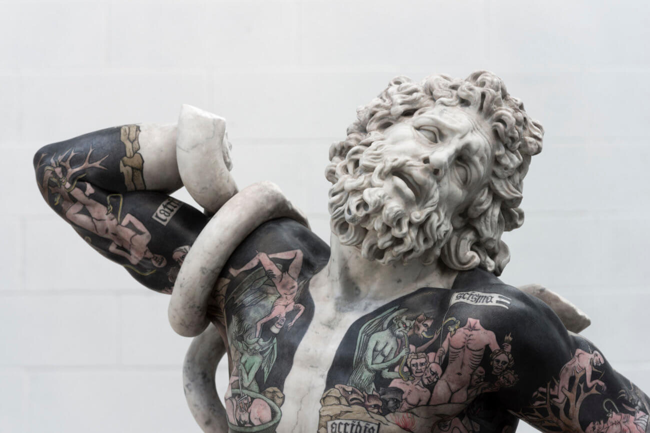 Artist Fabio Viale