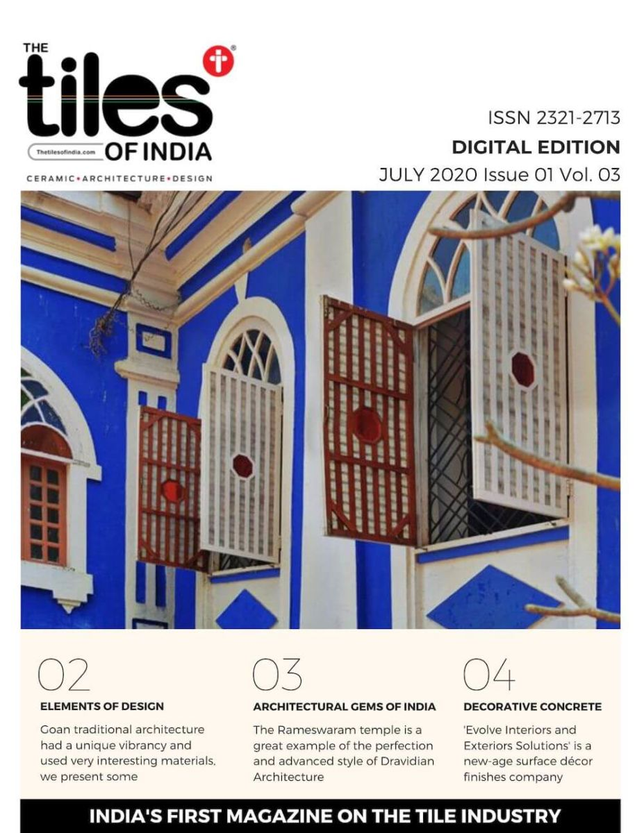 The Tiles of India Weekly Digital Tabloid Edition - July 2020 Issue 1 Volume 3