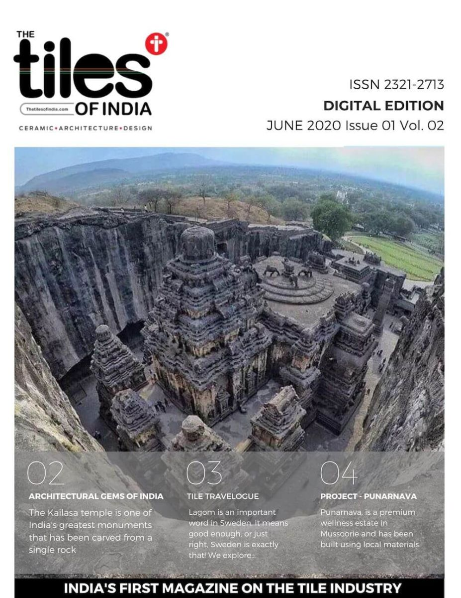 The Tiles of India Weekly Digital Tabloid Edition - June 2020 Issue 3 Volume 1