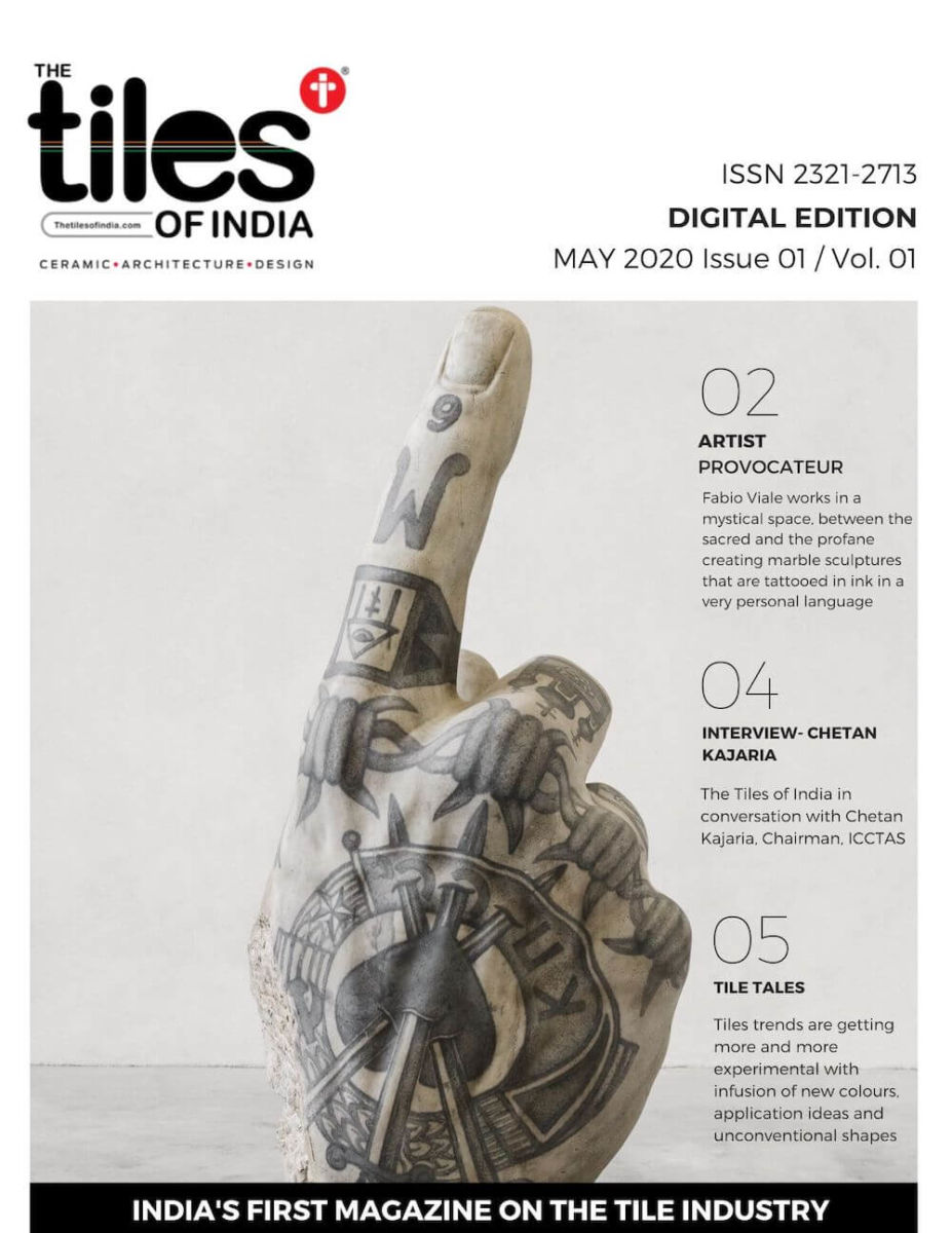The Tiles of India Weekly Digital Tabloid Edition - May 2020 Issue 1 Volume 1