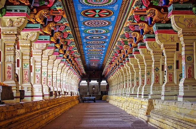 The Rameswaram temple