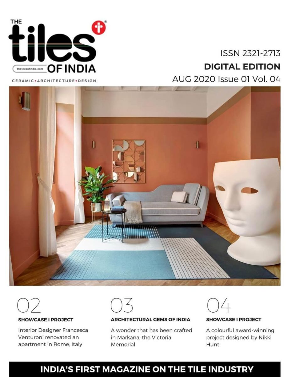 Digital Tabloid Edition Aug 2020 Issue 1 Vol 4 The Tiles Of India